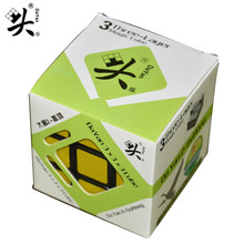 Dayan Gen2 Guhong V1 57mm 3x3x3 Magic Cube 3Layer Speed Cube Puzzle Cubo Magico Kids Educational Toys(China)