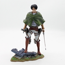 Anime Attack on Titan Figure Shingeki No Kyojin Mikasa Ackerman Brinquedos Figma PVC Action Figure Collection Model Kids Toy(China)