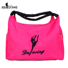 Buy Yoga Fitness Bag Embroidery Pattern Women Gym Bags Waterproof Nylon Training Sport Bag Travel Duffel Clothes Handbag XA606WD for $13.61 in AliExpress store