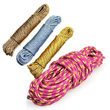 New 10 m Lifeline Climbing Rope Four colors Available Escape Rope Climbing Camping survival equipment Outdoor Tools