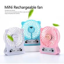 Portable Mini Air Cooling Fan USB Rechargeable Fan For Home Office Outdoor Handheld Cooler Fan Desktop Electric Mini Fan