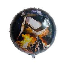 45cm Black Star Wars Super Hero UFO Foil Mylar Balloon for Kids Birthday Party Inflatable Toys(China)