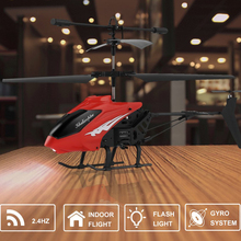 OCDAY XY802 RC Helicopter 2.4G 2CH Drone Toy Remote Control Drones Flying Toy Helicoptero Aircraft Kid Drone Dron New Year Gift(China)