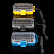 Earphone Waterproof Case Drop Resistance Protective Box Portable Earphone Case In Ear Monitor Storage Hearing Aids Case(China)