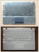 NEW For samsung NP270E4E NP300E4E NP270E4V NP275E4V Slovakia SV/SL laptop keyboard with  case Touchpad BA75-04583P