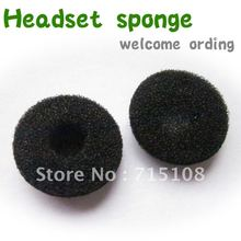 FREE SHIPPING Foam Earbud 1000pcs/LOT Bud Pad Replacement Sponge Covers for Ipod Iphone Itouch Ipad Headsets(China)
