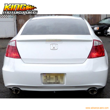 For08-12 Honda Accord 2Dr Coupe OE Factory Unpainted ABS Trunk Spoiler