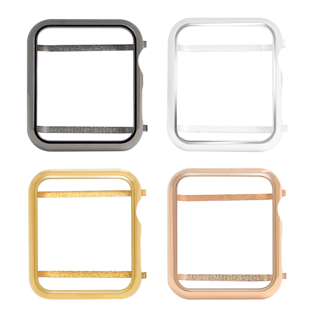 Metal Case Bezel Cover For Apple Watch Series 3 Series 2 Series 1 38Mm 42Mm