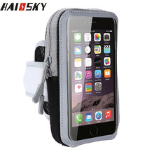 Haissky Waterproof Running Sport Phone Case For iPhone 8 7 6 6s Plus 5 5S Samsung S8 S7 S6 edge Xiaomi Mi5 Mi6 Huawei P10 Pouch(China)