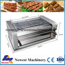 220v/50hz barbecue bbq grilling machine on hotsale,stainless steel small home appliance bbq grill, electric bbq grill for NT-808