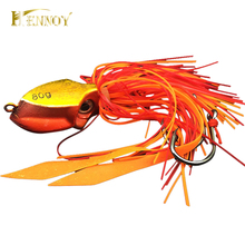 Hennoy New Lead Jig 80g Lures Deep Sea Boat Fishing Lead Jig Hook Lures Octopus Head Jigs Fishing Accessories Equipment(China)