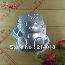 Sell like hot cakes hello kitty metal cake pan cake making tools 10*8*2.5cm baking molds No.:ME83(China)