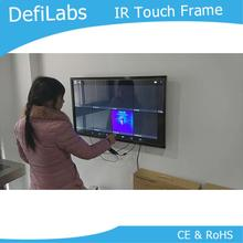 DefiLabs 50 inch Infrared Touch frame for Digital Signage / interactive multi touch overlay-2 Touch Points,Stable and no drift(China)