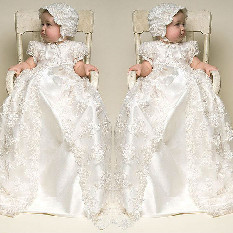 New 2016 Enchanting Baby Christening Dress Baptism Gown Baby Girl ...