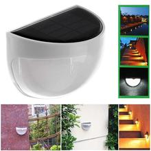 Waterproof IP55 6-LED Solar Lamp Power Garden LED Solar Light Outdoor Wall Solar Power Lamp For Street Yard Path A609