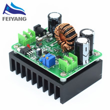 1pcs DC-DC 600W 10-60V to 12-80V Boost Converter Step-up Module car Power Supply(China)