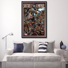 X089 New 2017 Secret Empire 3 NM Nick Spencer Mark Brooks Game A4 Art Print Poster Silk Light Canvas Painting Home Decor Wall Pi(China)