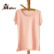 T-shirt Women Cotton Top Tees Female Fashion T Shirt Summer Tops Clothes Casual Sweet Pink Tshirt Apparel & Accessories Clothing