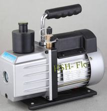 Two stage Dual Voltage Adjustable 110V/ 220V 50HZ 2.5CFM, 1/3 HP Rotary Vane Electric Vacuum Pump