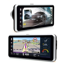 WiFi Car DVR 7.0 inch 1080P 170 Degree Bluetooth FM Car Video Player GPS Navigation Android System for  with Rear View Camera