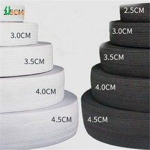 1meter Flat Elastic Band Sewing Clothing Accessories Nylon Webbing Garment Sewing Accessories Width 2cm 4cm 6cm(China)