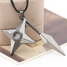 2016 Hot Selling Naruto Necklace Fashion Gifts Sword style Necklaces Pendant accessories Men jewelry