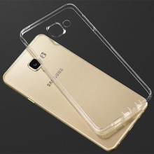 Ultra Thin Transparent Clear TPU Case For Samsung Galaxy A3 A5 A7 J1 J3 J5 J7 2016 Crystal Back Protect Silicone Phone Bag