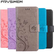 Wallet Soft Case Housing for Apple iPhone 4s 4 5 5s SE 5SE 6 6s 7 Plus 7Plus New Design Butterfly Flower Leather Flip Cover