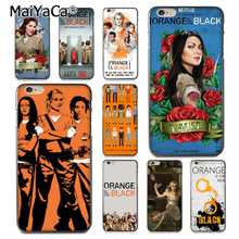 MaiYaCa Orange is the new black poster TV Show Black Phone Accessories Case for iPhone 8 7 6 6S Plus X 10 5 5S SE 5C Coque Shell(China)