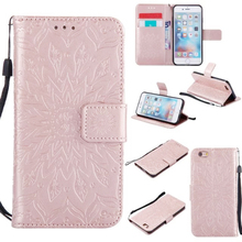 Embossed Magnetic PU Leather Soft Wallet ID Holder Stand Case Cover For iPhone 7 7 Plus 6G 6 S Plus 5G 5S SE iPod Touch 5 6