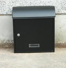 Large high-grade outdoor waterproof antirust iron mailbox European mailbox. Newspaper letter post box(China)