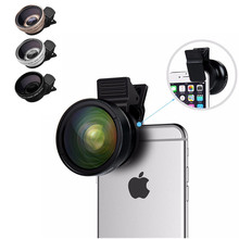 ZEALLION Mobile Lens 0.45X Super Wide Angle Digital High Definition Camera Lens For Cell Phone(China)