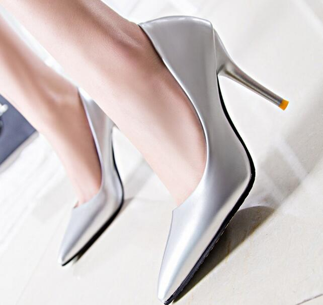 Fashion sexy carved metal with fine shoes with high heel suede shallow mouth pointed shoes shoes 10cm high heels pumps .LD-01<br><br>Aliexpress