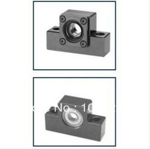 10pairs/lot EK10/EF10  ball screw shaft guide end supports Fixed side EK10 and Floated side EF10<br>