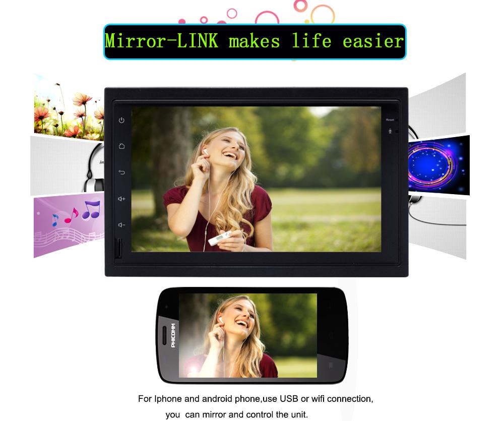 4G SIM LTE Network Ownice C500 Octa 8 Core Android 6.0 2G RAM 2 Din Car DVD GPS Navi Radio Player For VW Skoda Octavia 2 mirolink