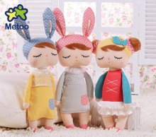 Hot Sale Genuine Metoo Angela Rabbit Dolls Bunny Baby Plush Toy Cute Lovely Stuffed Toys Kids Girls Birthday/Christmas Gift