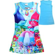 Children Dress Clothing Summer Dresses Girls Baby Pajamas Costume  Princess Nightgown Vestidos Infantis Clothes