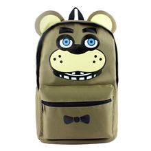 New Five Nights at Freddy's 2 Backpack School Bag Cosplay Game Golden Freddy Backpacks Unsiex Character Anime Bag