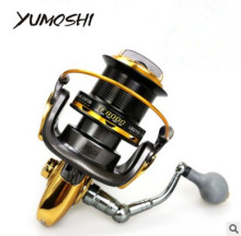 YUMOSHI TF8000-9000 Helped a large  fishing reel series handle 12+1BB 4.6:1 saltwater big game spinning fish wheel