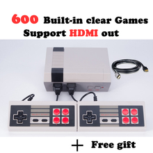 MYOHYA HDMI Output Retro Classic handheld game player Family TV video game console Childhood Built-in 600 Games mini Console(China)