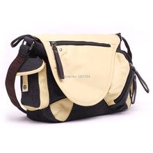Bolsas Rushed Zipper Trunk Men Fresh 2016 New Female Man Leisure  Bags High School Students Computer Canvas Bag M-0630