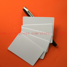 125Khz rfid EM4100 Chip Printable Blank ID Inkjet Card  for Epson /Canon Printer with Card Tray