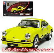 World model cars toy ! 1 : 43 alloy slide car toy Models,super cool,free shipping,Favorite children's birthday gift