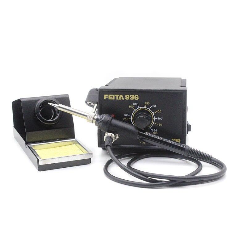 Feeeshipping for A1321 Ceramic Heater 907 Solder iron EU Plug 220V FEITA 936 Solder Iron ESD Soldering Stations<br><br>Aliexpress