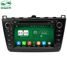 "8"" 1024*600 ROM 32GB Octa Core Android 6.0.1 Car DVD Player Fit Mazda6 Mazda 6 2008-2012 Stereo Radio 4G WiFi GPS Navigation"
