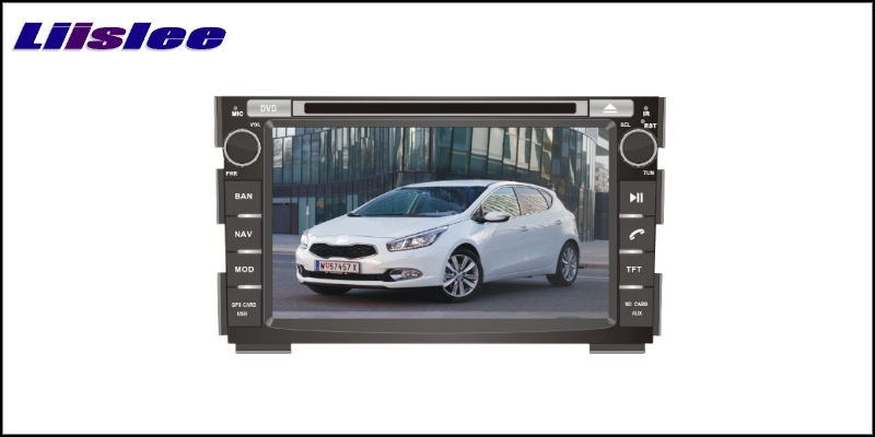 For KIA CEED 2006~2012 LiisLee Car Multimedia TV DVD GPS Audio Hi-Fi Radio Original Style Navigation 2