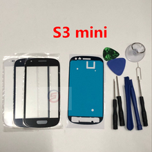Front Outer Glass Lens Touch Screen Replacement for Samsung Galaxy S3 mini i8190 + Repair Tools & Adhesive(China)
