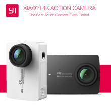 "YI 4K Action Camera Ambarella A9SE75 International Edition Xiaoyi Sports Camera 2.19"" 155"" 12MP CMOS EIS LDC Live Streaming"