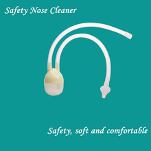 Buy 1PC Baby Safe Nose Cleaner Vacuum Suction Nasal Mucus Runny Aspirator Inhale Nasal Aspirator for $1.61 in AliExpress store