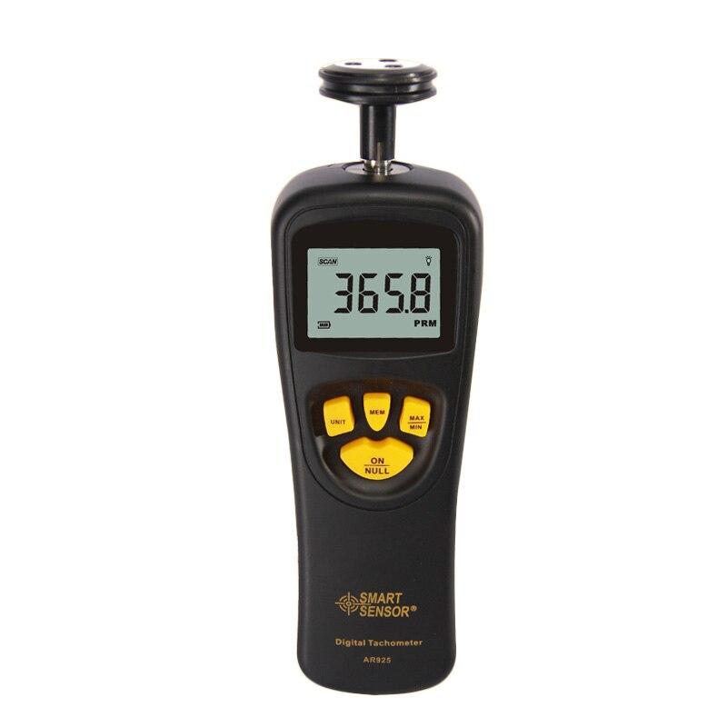 Free shipping Smart Sensor AR925 AR925 0.5~19999RPM Contact Digital Tachometer RPM Meter digital Tach speedometer<br><br>Aliexpress